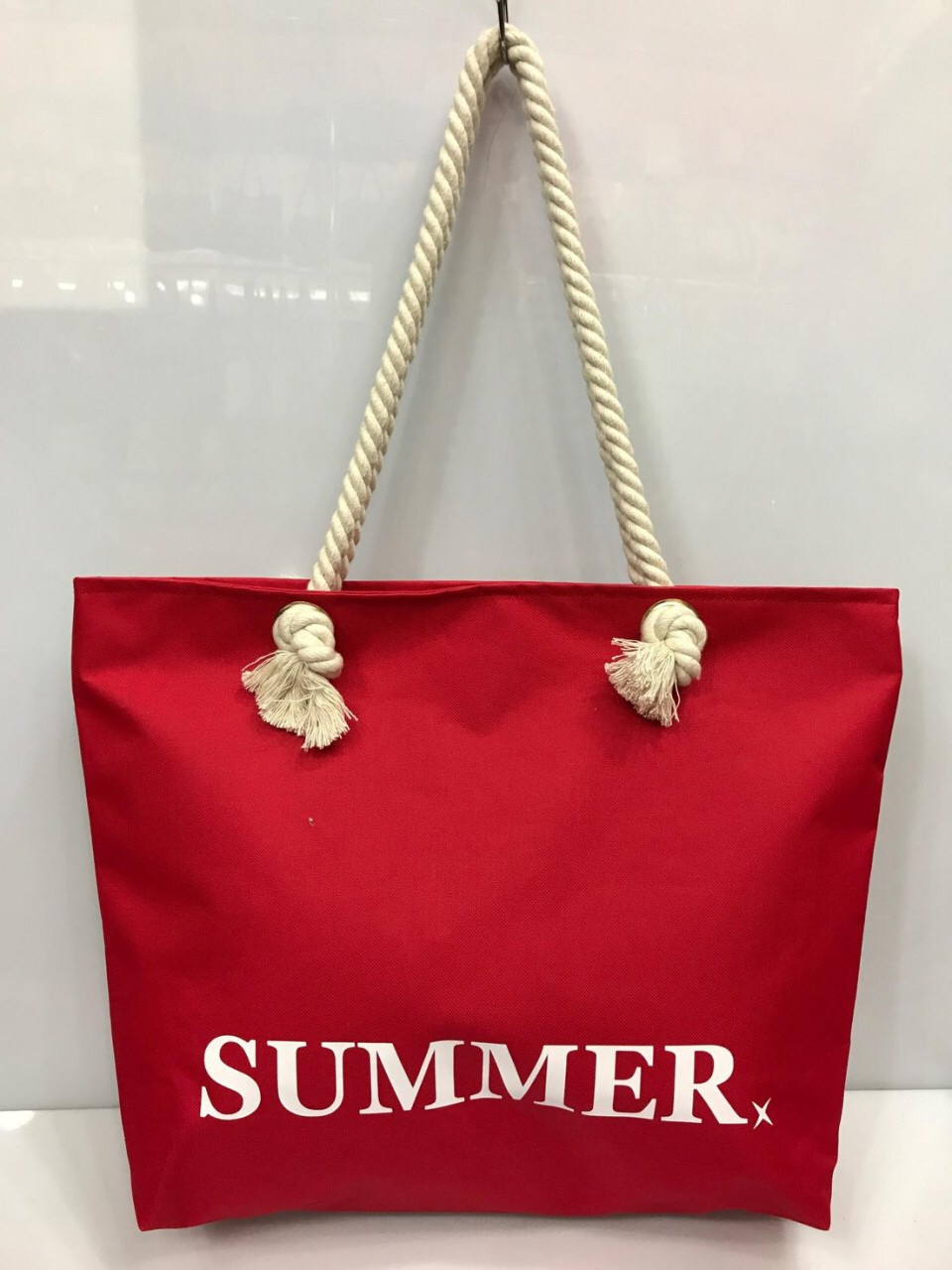 Женская сумка на канатах