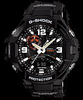 Мужские часы Casio G-SHOCK GA-1000-1A Касио противоударные японские кварцевые