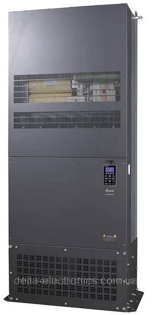 Преобразователь частоты Delta Electronics, 450кВт, 460В,векторный, c ПЛК и прямым упр. моментом,VFD4500C43A