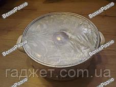 Кастрюля эмалированная с крышкой на 4.8л., фото 3