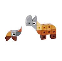 Конструктор В мире животных. Носорог 7257, Gigo