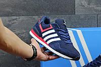Кроссовки мужские Adidas Neo темно-сине-красные