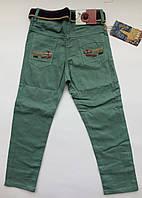 Цветные брюки-джинсы на мальчика на 1-2 года весна мятный