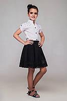 Школьная юбка для девочки Штефи Размеры 122 - 158