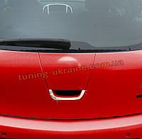 Накладка на заднюю ручку Carmos на Opel Astra J 2009-2015