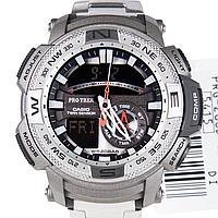 Мужские часы Casio Protrek PRG-280D-7DR Касио противоударные японские кварцевые