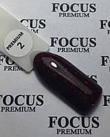 Гель-лак FOCUS Premium №002, 8 мл