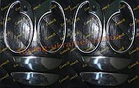 Накладки на ручки и ободки Carmos на Opel Corsa C 2000-2006