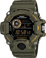 Мужские часы Casio G-Shock GW-9400-3DR Касио противоударные японские кварцевые, фото 1