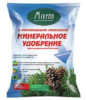 Умное комплексное удобрение Mivena для хвойных растений, яблонь, огурцов, капусты