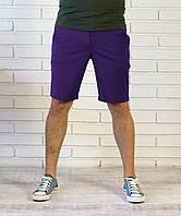 Летние шорты фиолетового цвета