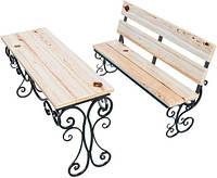 Садовая мебель с коваными эллементами