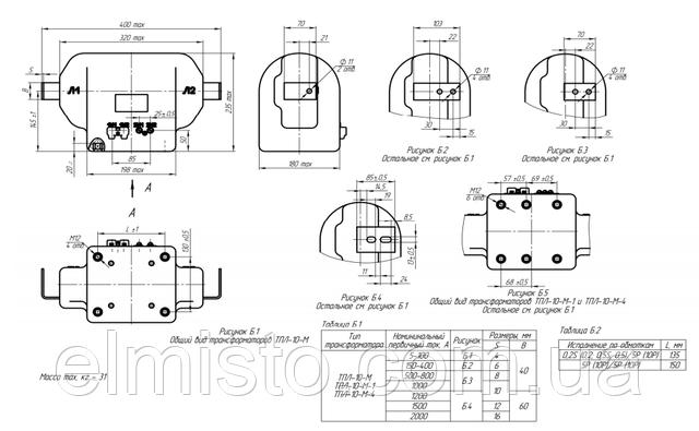 Купить проходной трансформатор тока ТПЛ 10М