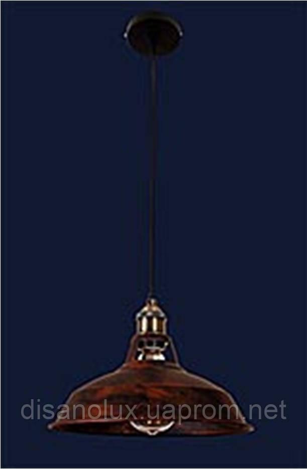 Cветильник подвесной 7526857-1 BK +BR (310) Е27 310*240мм