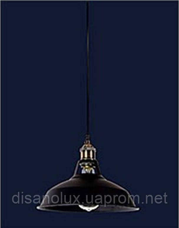 Cветильник подвесной 7526857-1 BK (270) Е27 270*200мм