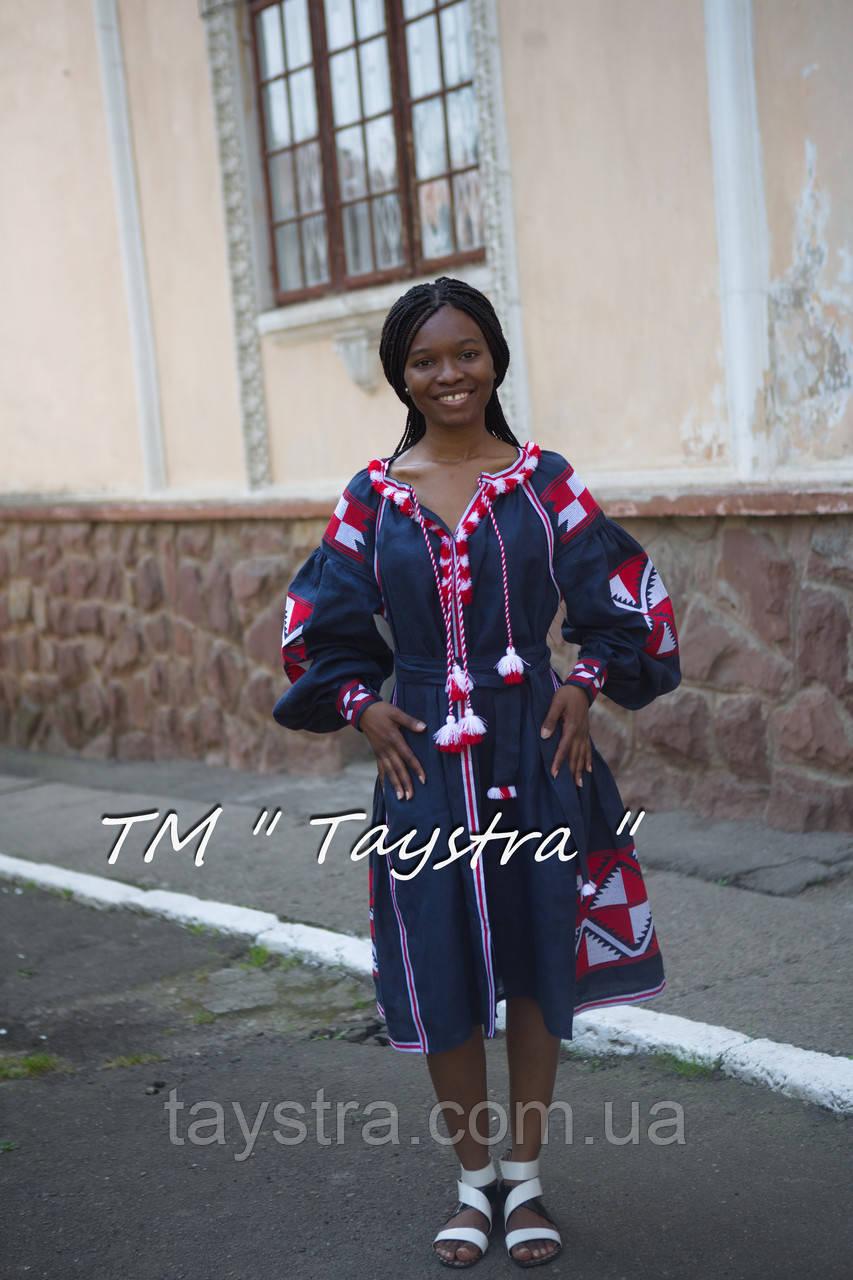 60b3265219c300 Вышитое платье бохо вышиванка лен, этно, стиль бохо шик, вишите плаття  вишиванка,