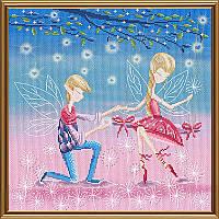 Набор для вышивания нитками и бисером Признание в любви