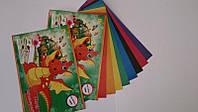 Набор цветной бумаги А5 9 листов