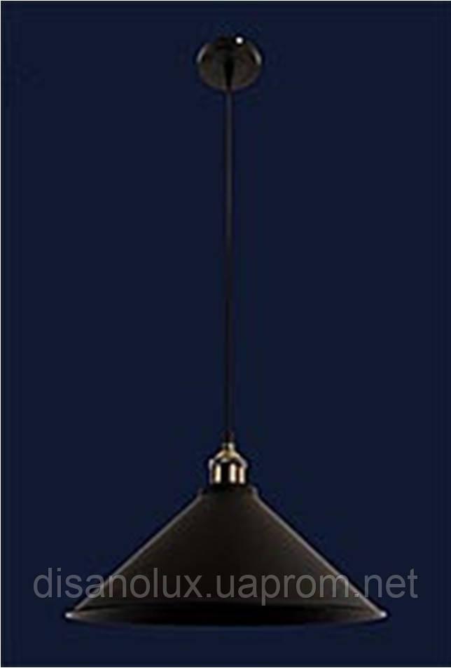 Cветильник подвесной 7526855-1 BK (360) Е27
