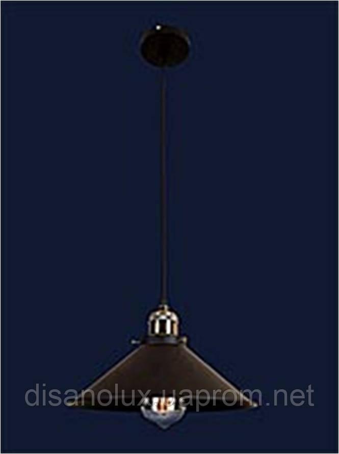 Cветильник подвесной 7526855-1 BK (300) Е27 300*200мм