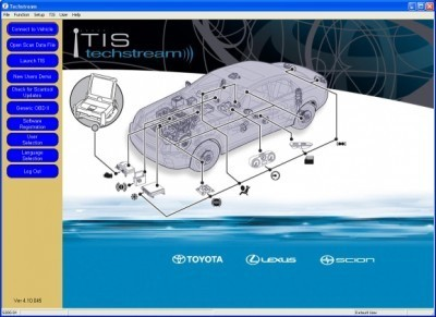 TOYOTA TECHSTREAM 6.20.020