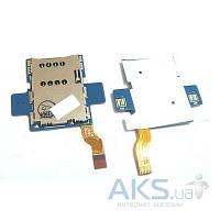 Шлейф для Samsung P7100 Galaxy Tab 10.1 с коннектором SIM-карты (Original)