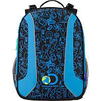 Рюкзак школьный каркасный Discovery KITE DC17-703M