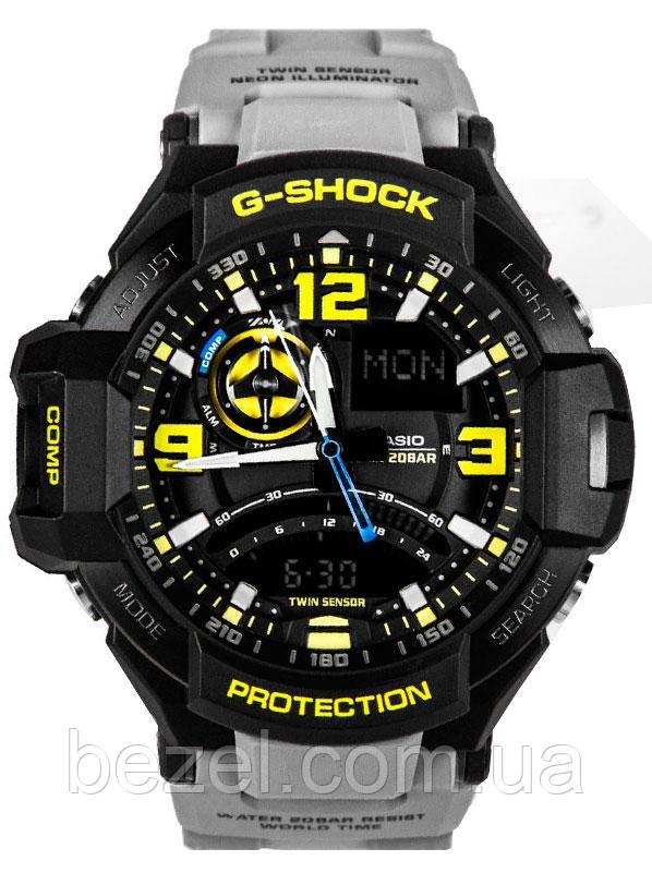 Мужские часы Casio G-Shock GA-1000-8AER Касио противоударные японские кварцевые