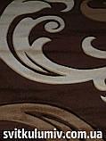 Ковер рельефный Legenda 0313 brown, фото 5