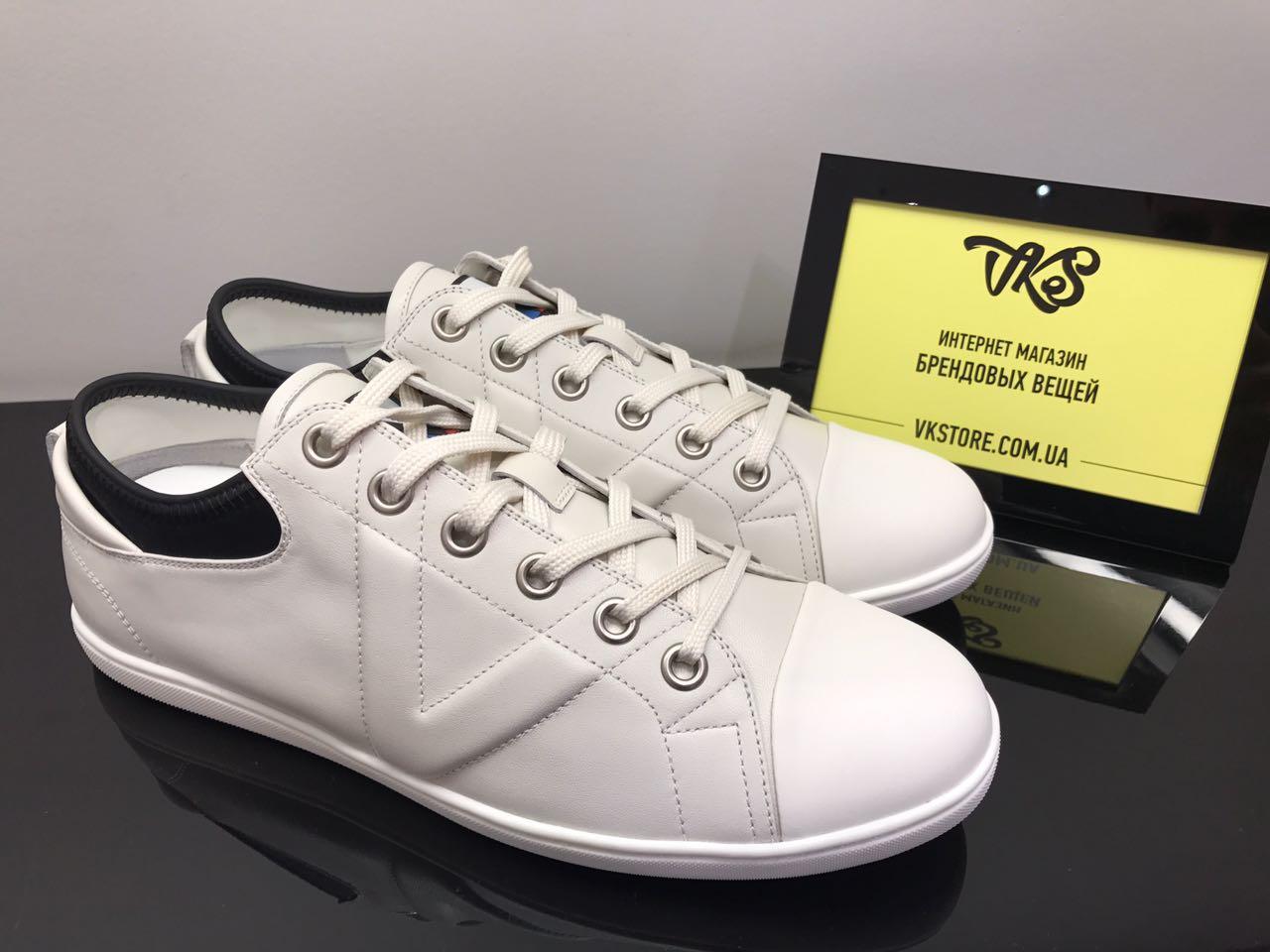 c9cf138b60dc Мужские белые кроссовки Louis Vuitton