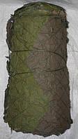 Маскировочная сеть 3 м  на 6 м (18 кв. м), затемненность 100 %, для охоты, засидки, для создания тени.