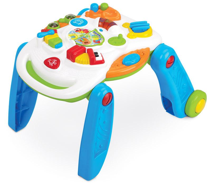 Развивающий музыкальный игровой столик Weina 2-в-1 (2137)