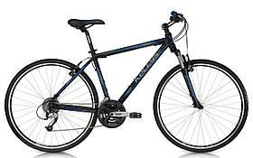 """Велосипед Kellys 28"""" COACH MOONLIGHT 2013 рама 21"""" чорний/синій 201311821"""