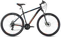 """Велосипед 26"""" SX-3500 2017 рама 15"""" чорний/помаранч/матовий (SP000099) SPELLI"""