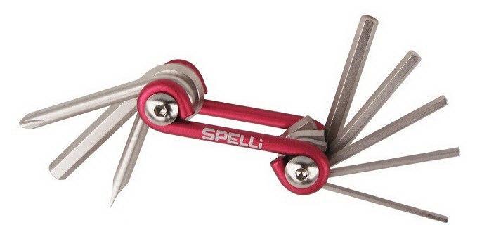 Ключі шестигранники SPELLI 8 функцій SBT-51S