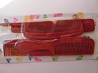 Набор расчесок для волос пластик  6 штук