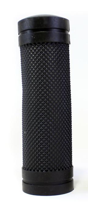 Ручки керма (гріпси) 90мм резина-каучук чорний (SBG-660S-BK) SPELLI