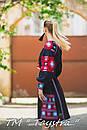 Вышитое платье  бохо вышиванка лен, этно, стиль бохо шик, вишите плаття вишиванка, Bohemian,стиль Вита Кин, фото 4