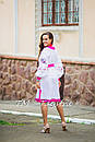 Стильное платье  бохо вышиванка лен, этно, бохо шик, вишите плаття, на свадьбу, выпускное платье, фото 3
