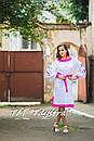 Стильное платье  бохо вышиванка лен, этно, бохо шик, вишите плаття, на свадьбу, выпускное платье, фото 4