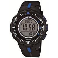 Мужские часы  Casio ProTrek PRG-300-1A2 Касио противоударные японские кварцевые