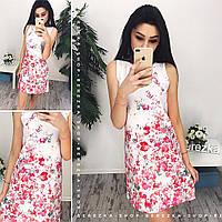 Платье женское трапеция 33818 Платья женские летние