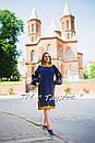 Стильное платье  бохо вышиванка лен, этно, бохо шик, вишите плаття, на свадьбу, выпускное платье, фото 7