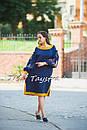 Стильное платье  бохо вышиванка лен, этно, бохо шик, вишите плаття, на свадьбу, выпускное платье, фото 5