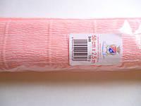 Креп-бумага (гофробумага) розовая 548 180г/м