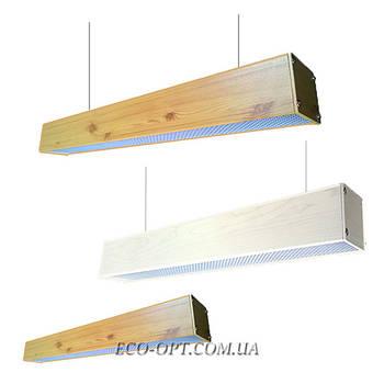 Линейные декоративные LED светильники (под дерево)