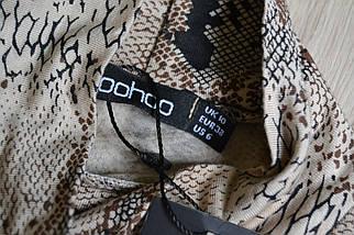 Новое платье в звериный принт Boohoo, фото 3