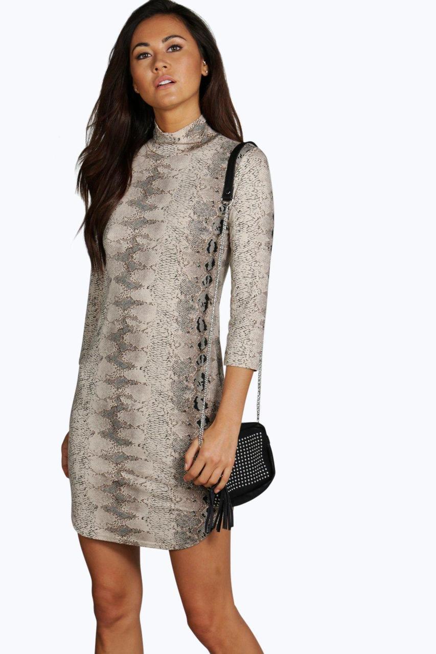 Новое платье в звериный принт Boohoo