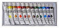Набор акриловых красок для рисования , 12 шт по 12 гр