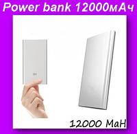 Внешний аккумулятор (power bank) 12000мАч